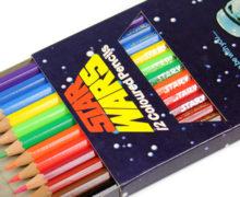 1977 Helix Star Wars Coloured Pencils