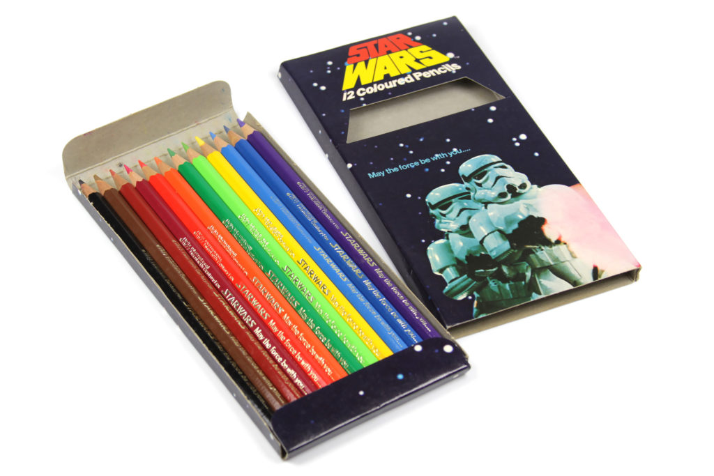 Star Wars Coloured Pencils by Helix Stationery, 1977