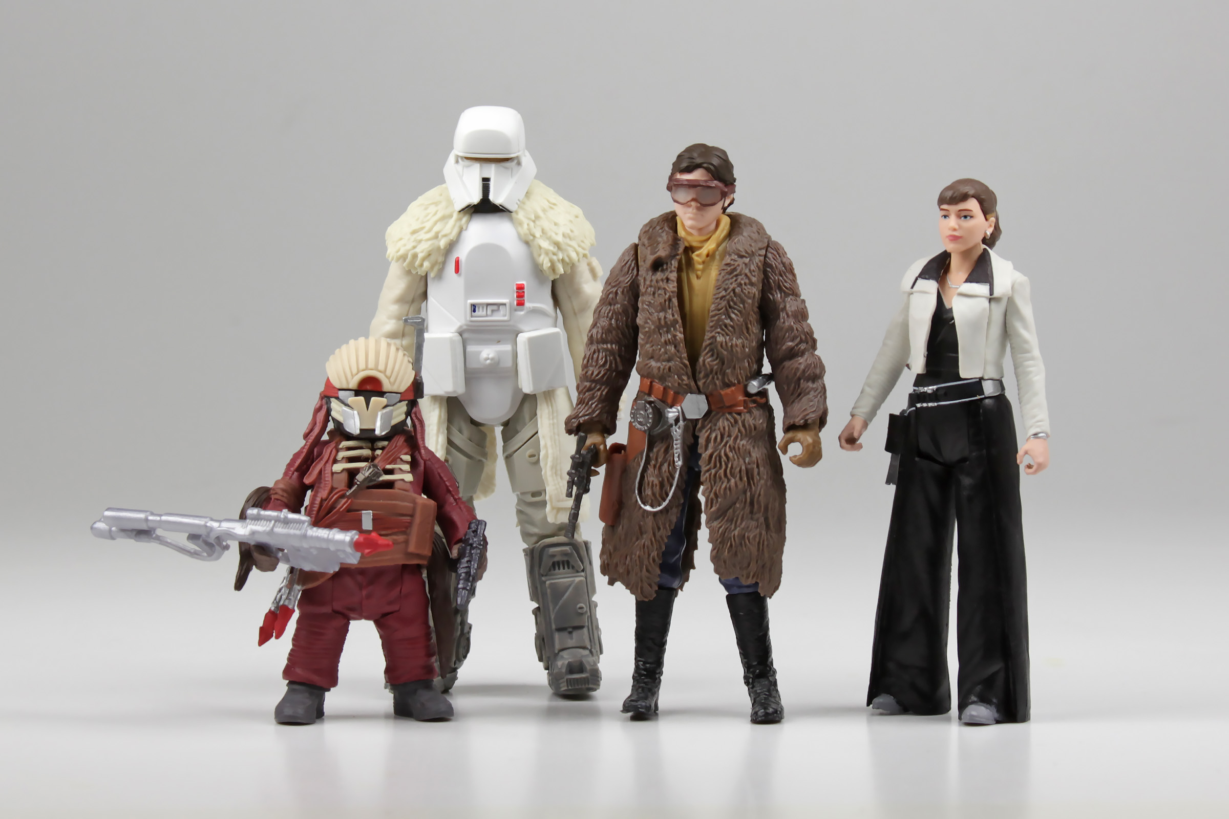 Mission on Vandor-1 action figure 4-pack from the Solo: A Star Wars Story