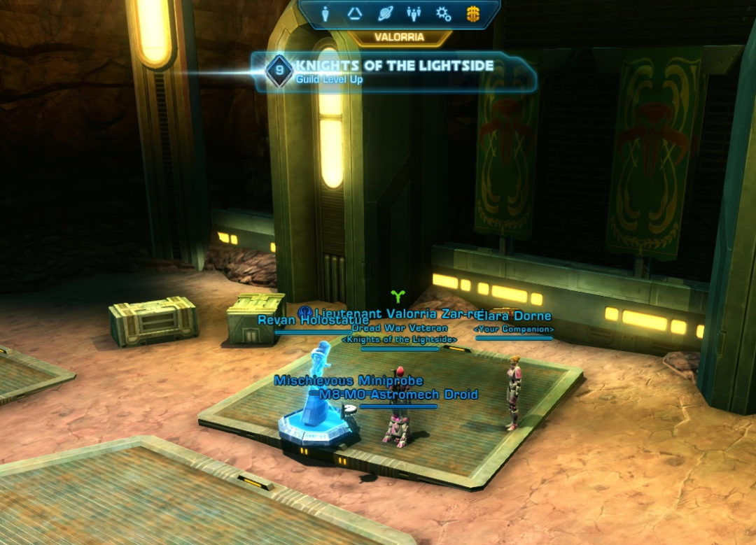 Star Wars The Old Republic - Knights Of The Lightside guild
