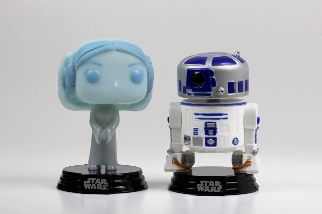 Hologram Princess Leia and R2-D2 Funko Pop! 2-Pack