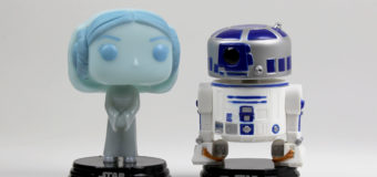 Hologram Princess Leia and R2-D2 Funko Pop! 2-Pack