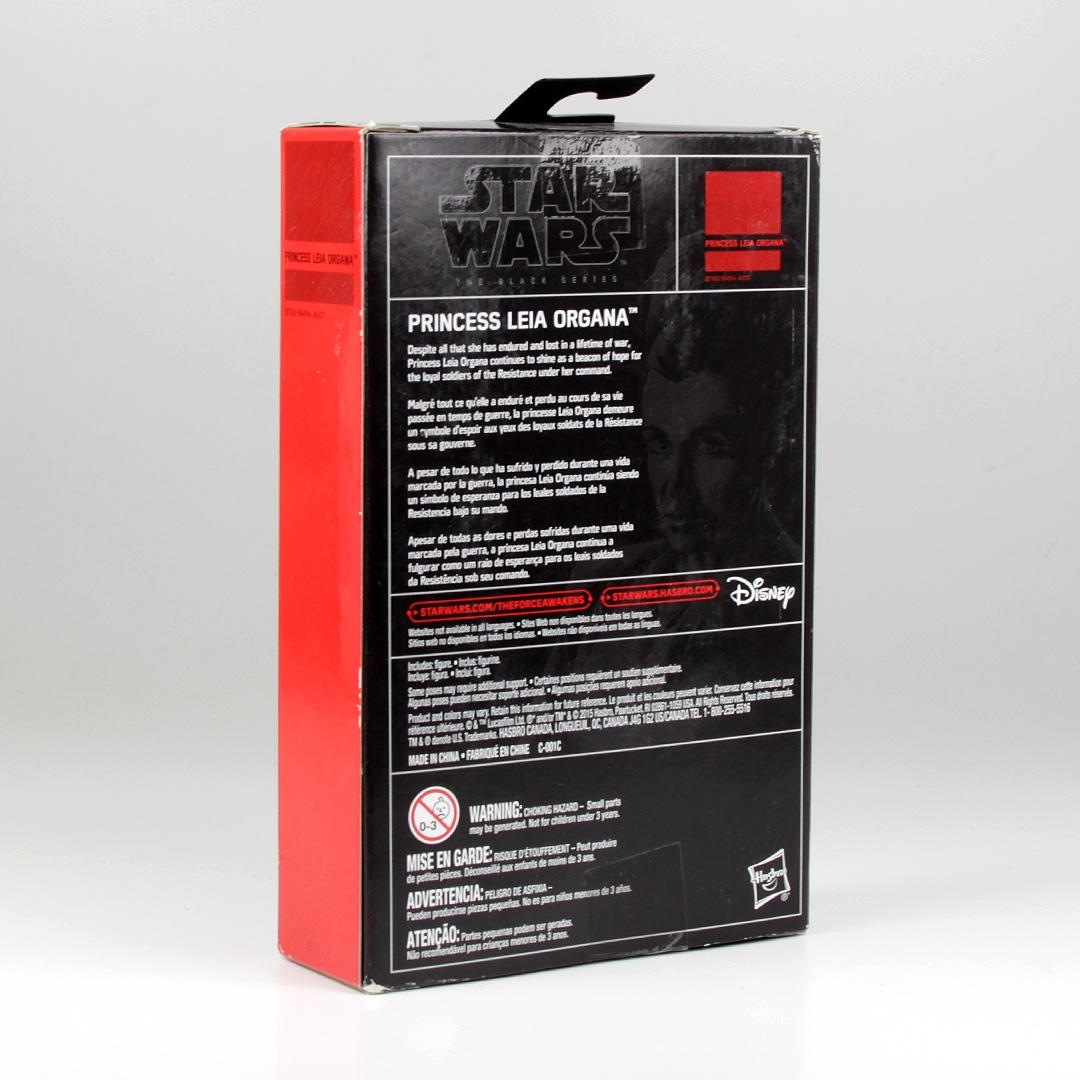 "The Black Series Leia 3.75"" figure"