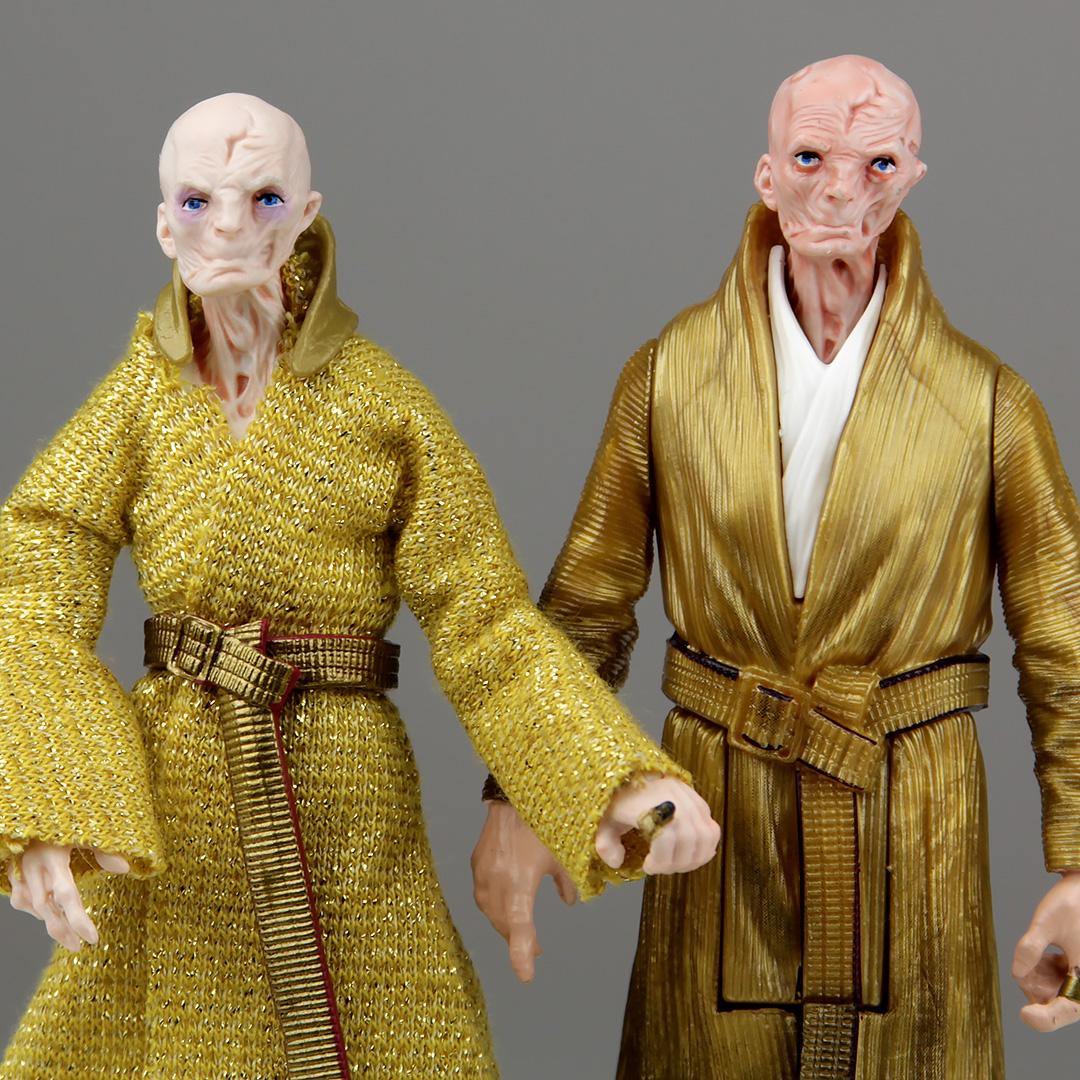 Supreme Leader Snoke Figures - TVC vs 5POA