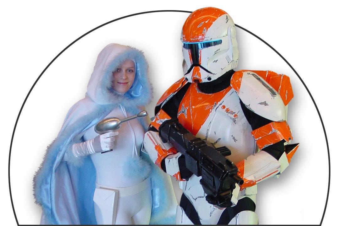Padme Amidala Snowbunny & Republic Commando RC-1138