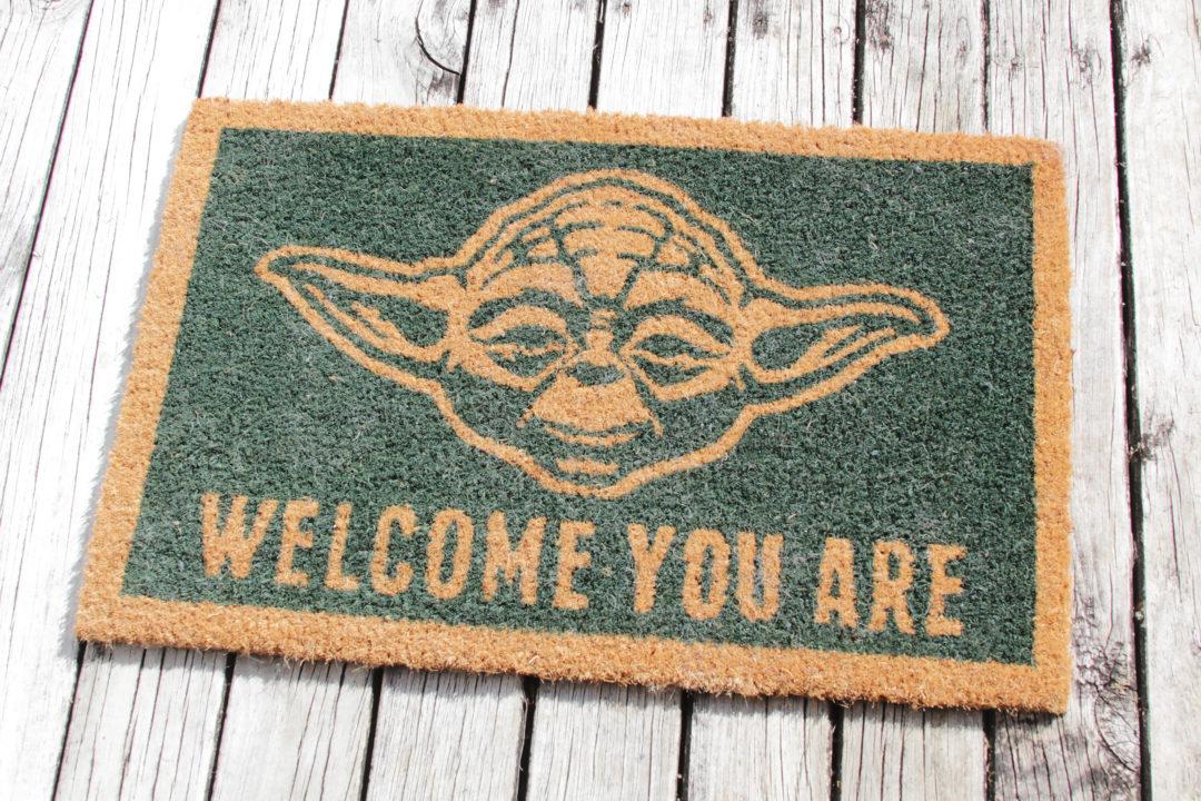 Yoda Welcome Mat