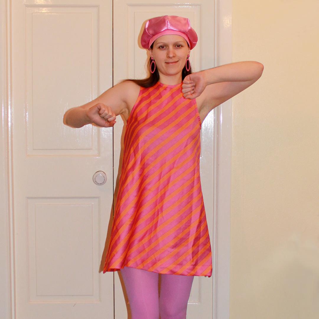 Fall For Costume - Austin Powers Go Go Dancer