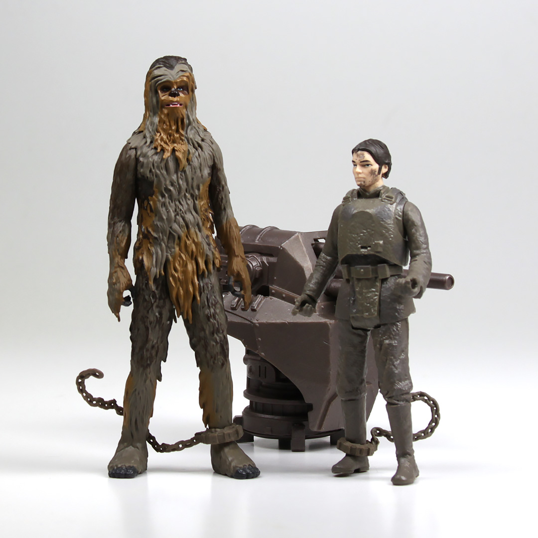 Han Solo and Chewbacca (Mimban) Figure 2-pack