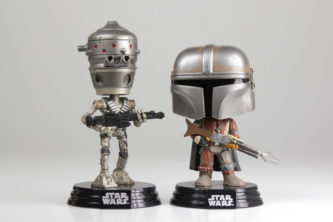 IG-11 and The Mandalorian Pops