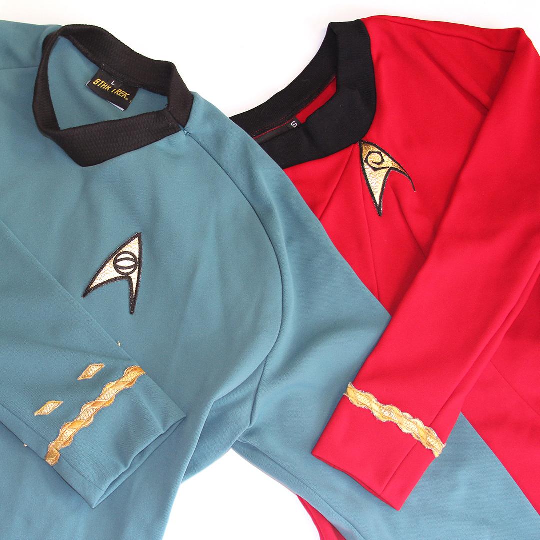 Fall For Costume - Star Trek 'The Original Series' Starfleet Uniforms