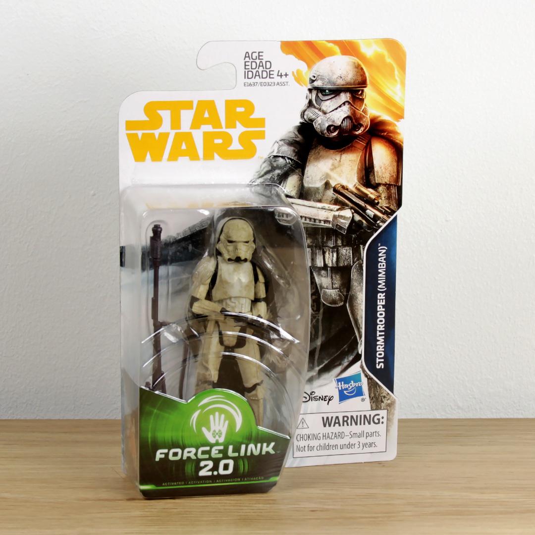 """Force Link 2.0 Stormtrooper (Mimban) 3.75"""" action figure"""