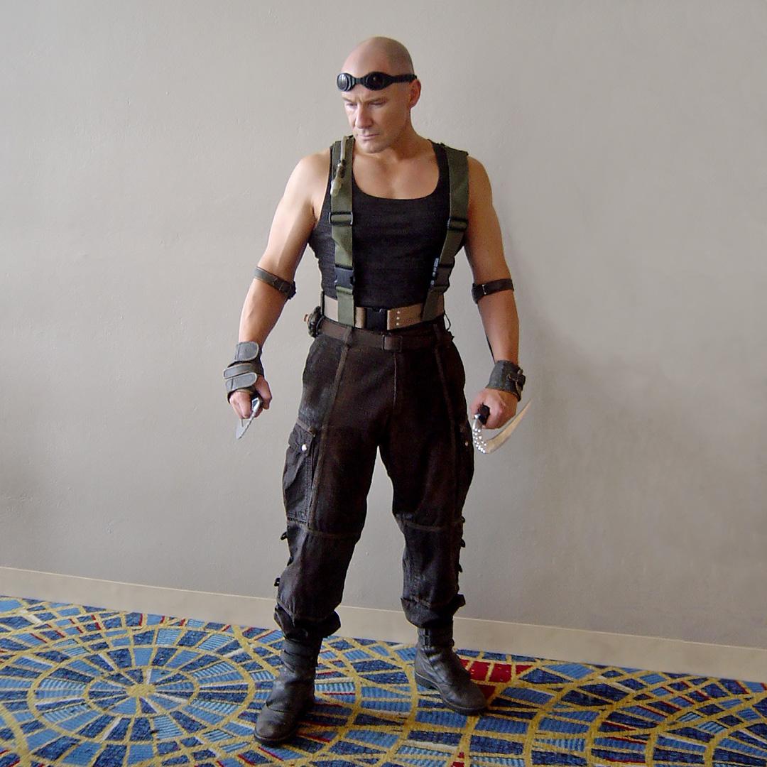 Fall For Costume - Screen-Used Riddick (Vin Diesel) Costume