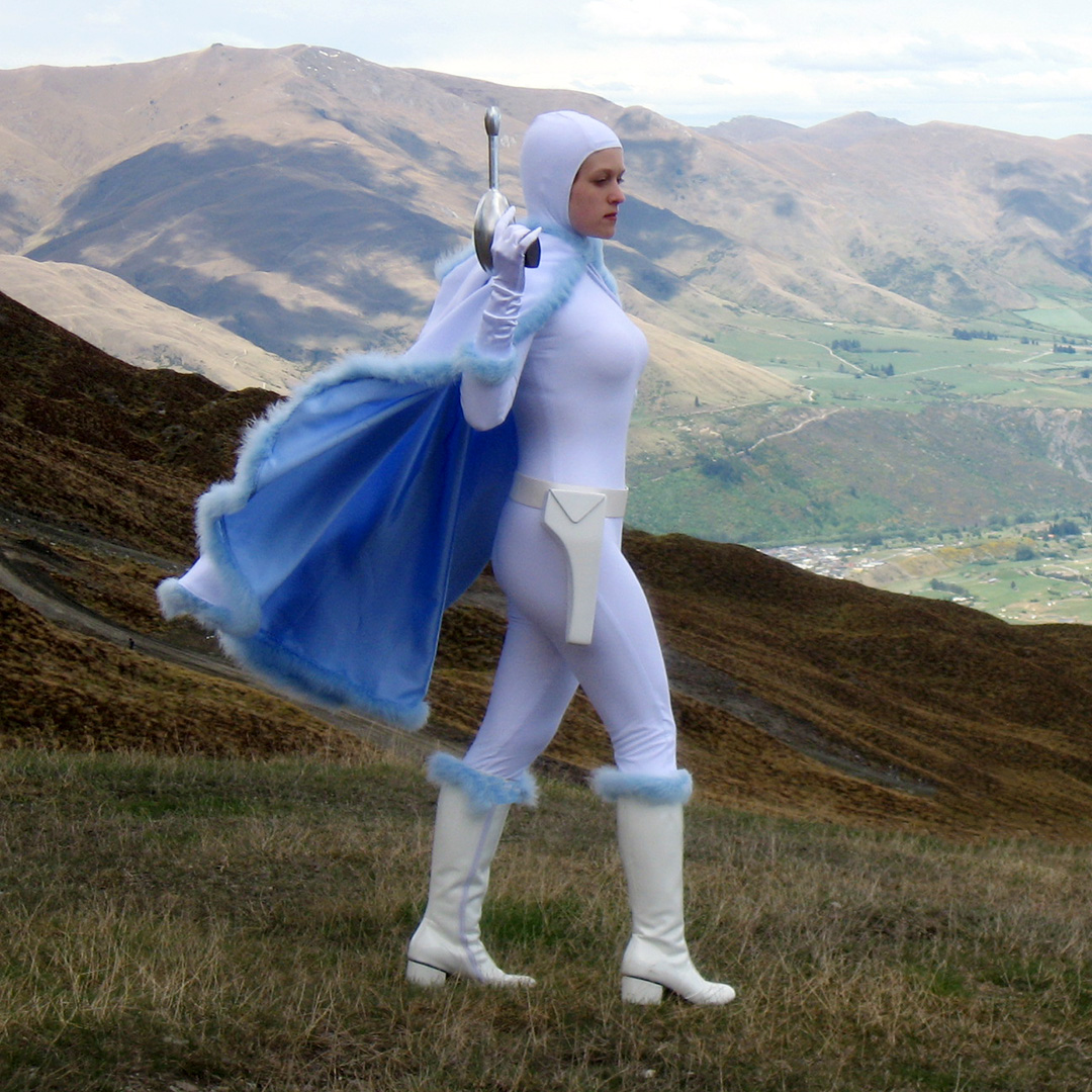Fall For Costume - Snowbunny Padme