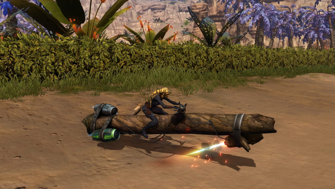 Star Wars The Old Republic - PTS 2019 Log Mount