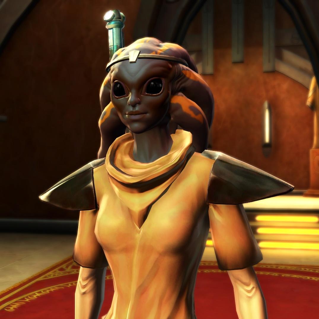 Star Wars The Old Republic - PTS Nautolan character