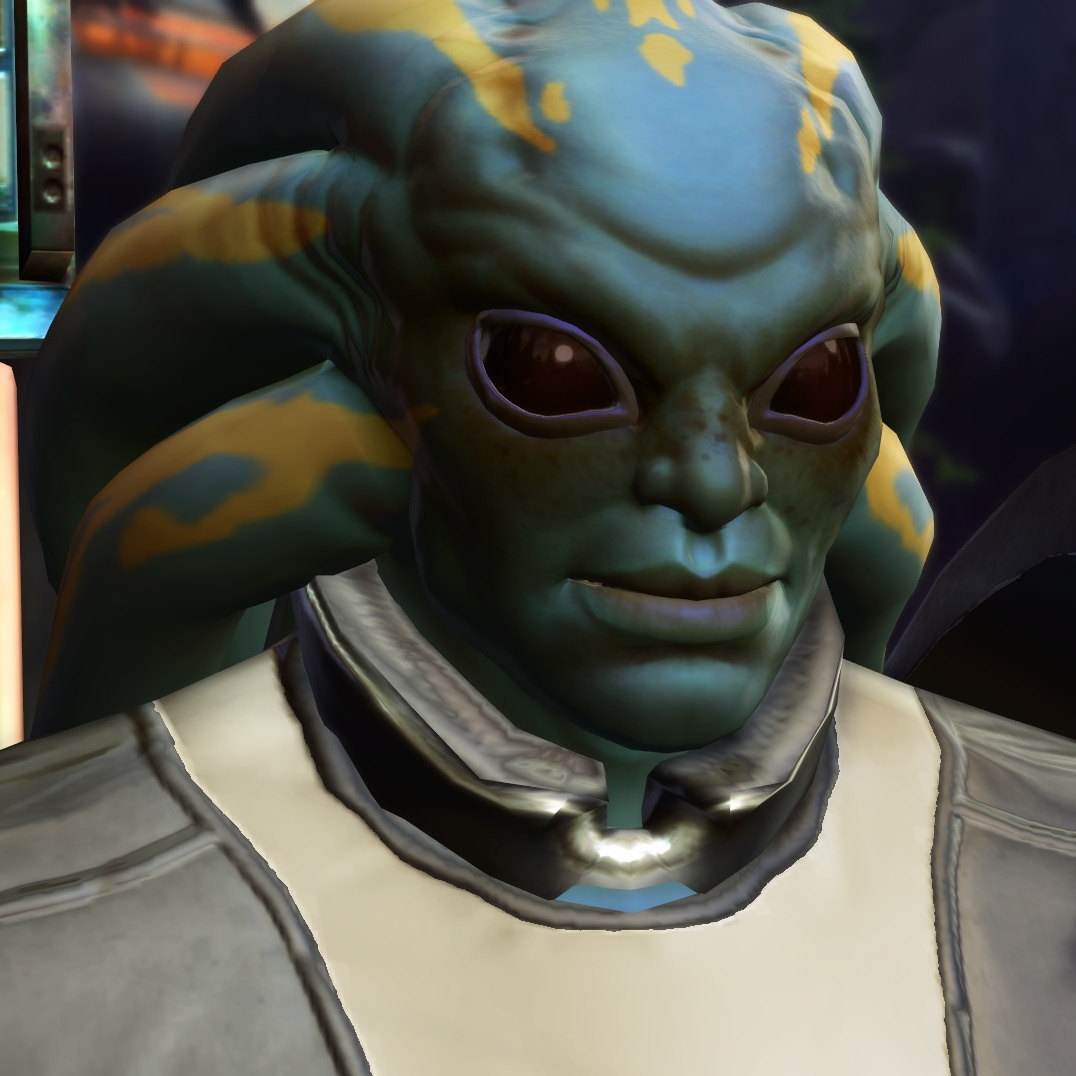 Star Wars The Old Republic - PTS Nautolan character