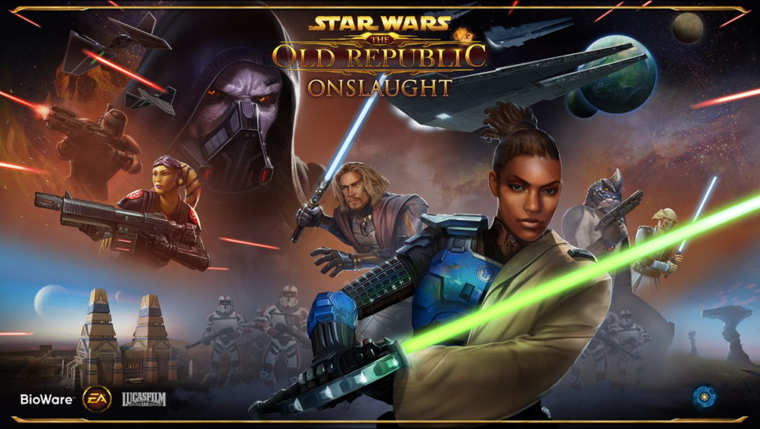 Star Wars The Old Republic - PTS 2019 Loading Screen