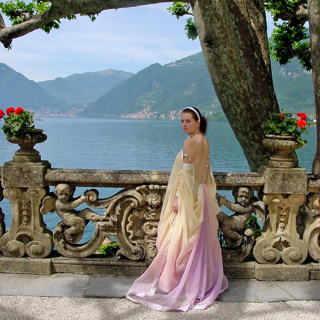 Fall For Costume - Padme Amidala, Lake Dress