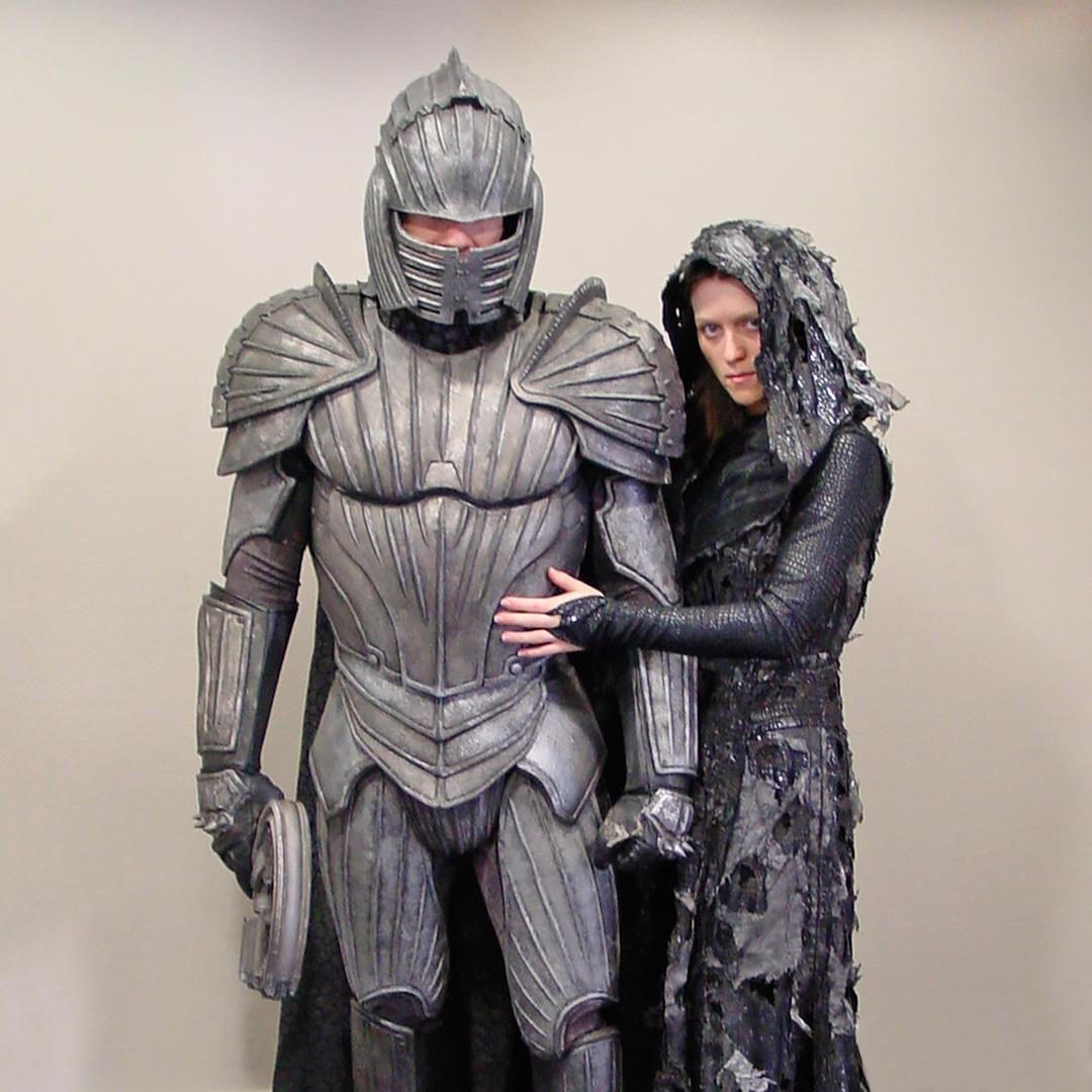 Fall For Costume - Screen-Used Necromonger Captain and Necromonger Convert