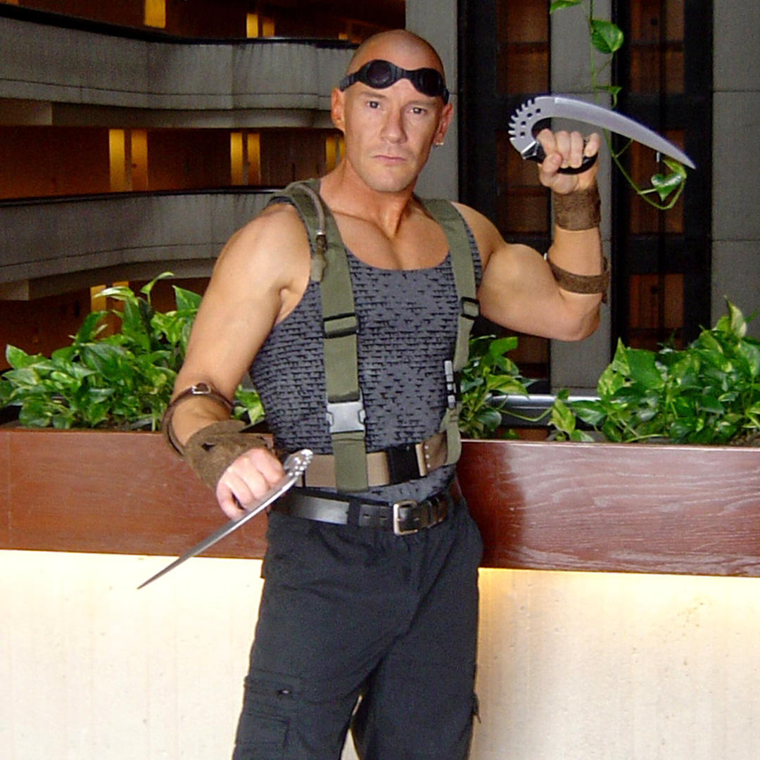 Fall For Costume - Home-Made Riddick Costume