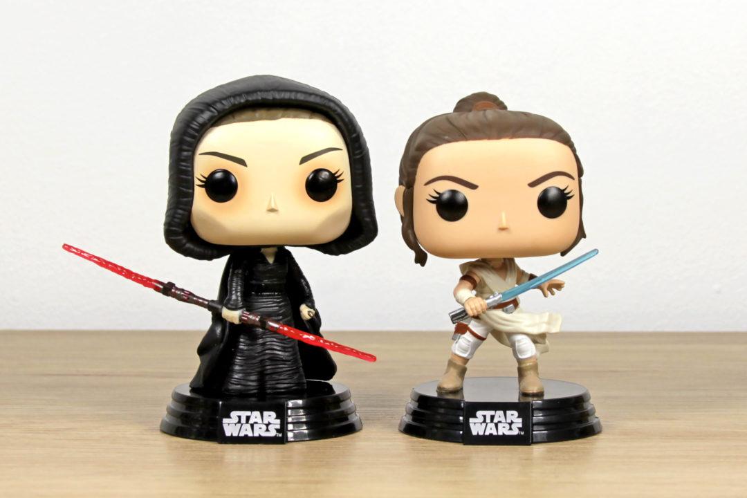 Star Wars: The Rise of Skywalker Funko Pop! Vinyl Bobble-Heads - Dark Side Rey & Rey