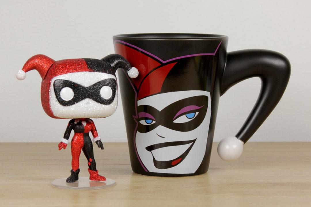 Harley Quinn Mug with Pop! Vinyl Figure