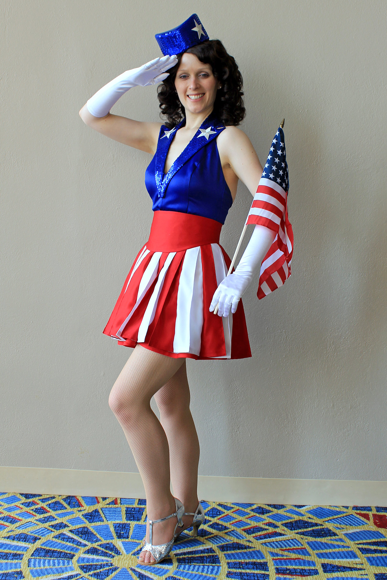 Captain America USO Girl