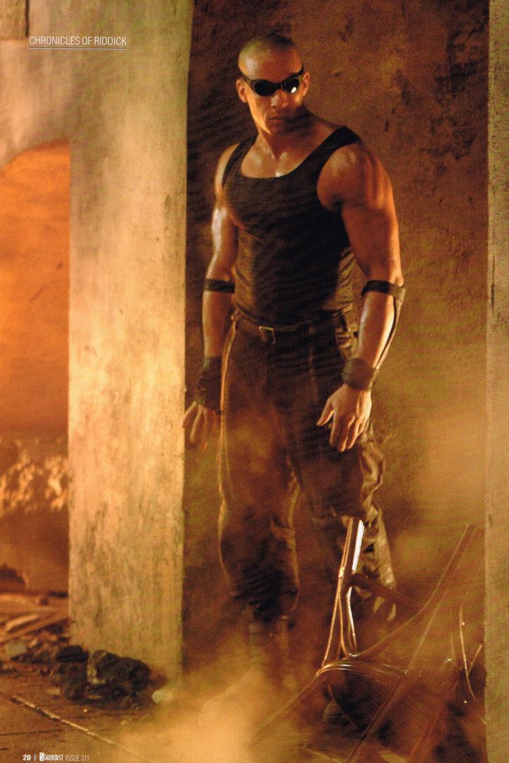 Starburst Issue 311 - Vin Diesel as Richard B Riddick