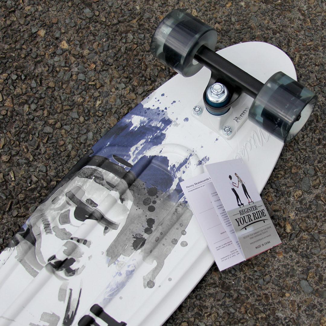 Stormtrooper Board by Penny Skateboards