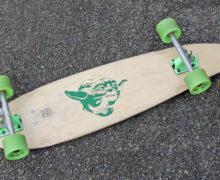 DIY Yoda Skateboard
