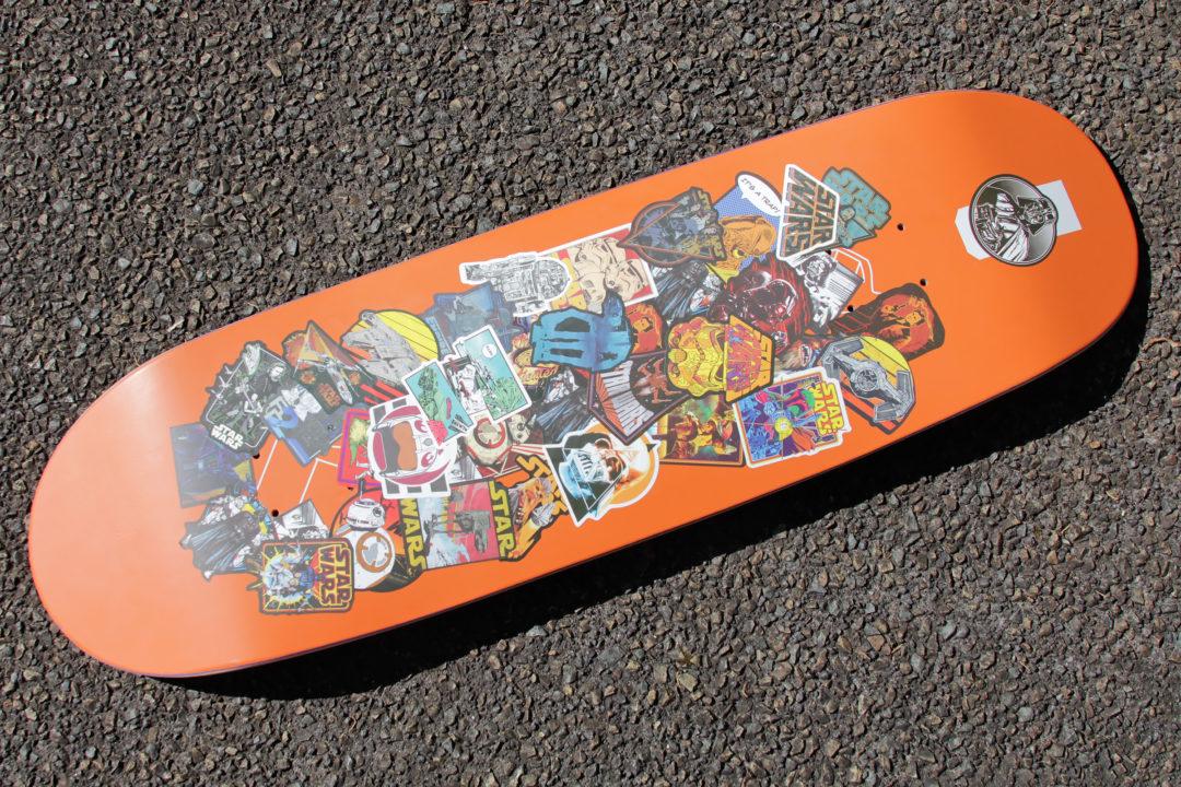 Star Wars Skateboard Deck