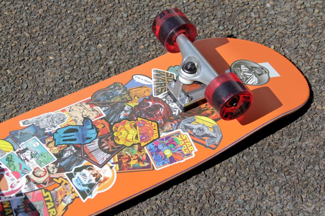 DIY Star Wars Skateboard