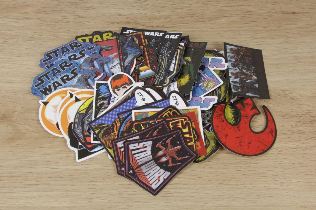 Star Wars Skateboard Stickers