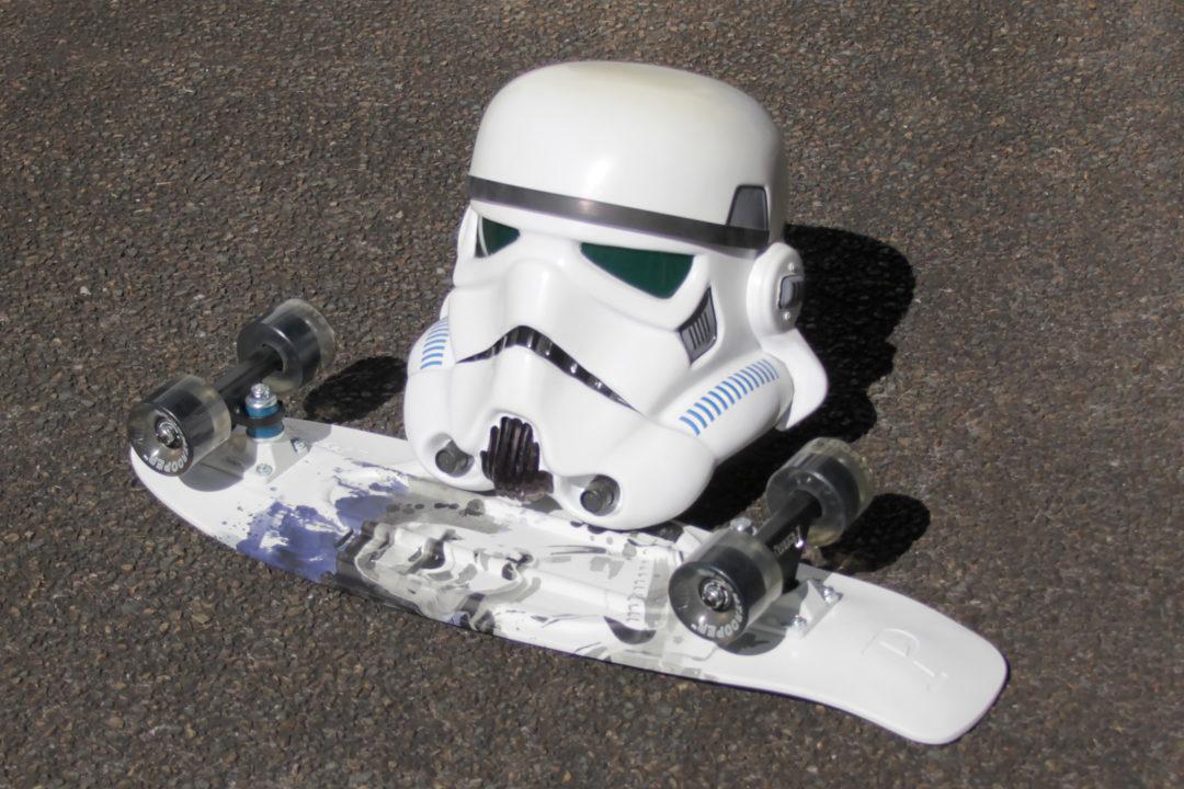 Stormtrooper Penny Skateboard