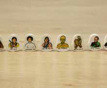 1977 Helix Star Wars Character Erasers