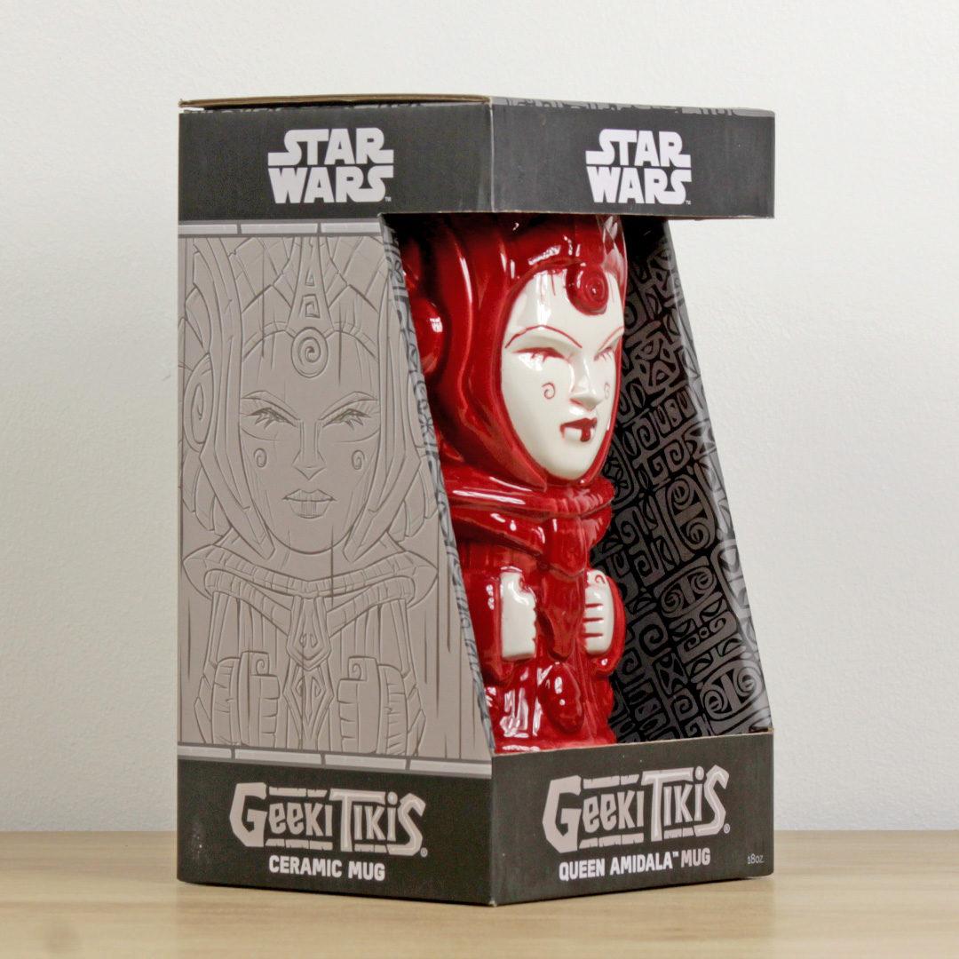 Star Wars Geeki Tikis Queen Amidala