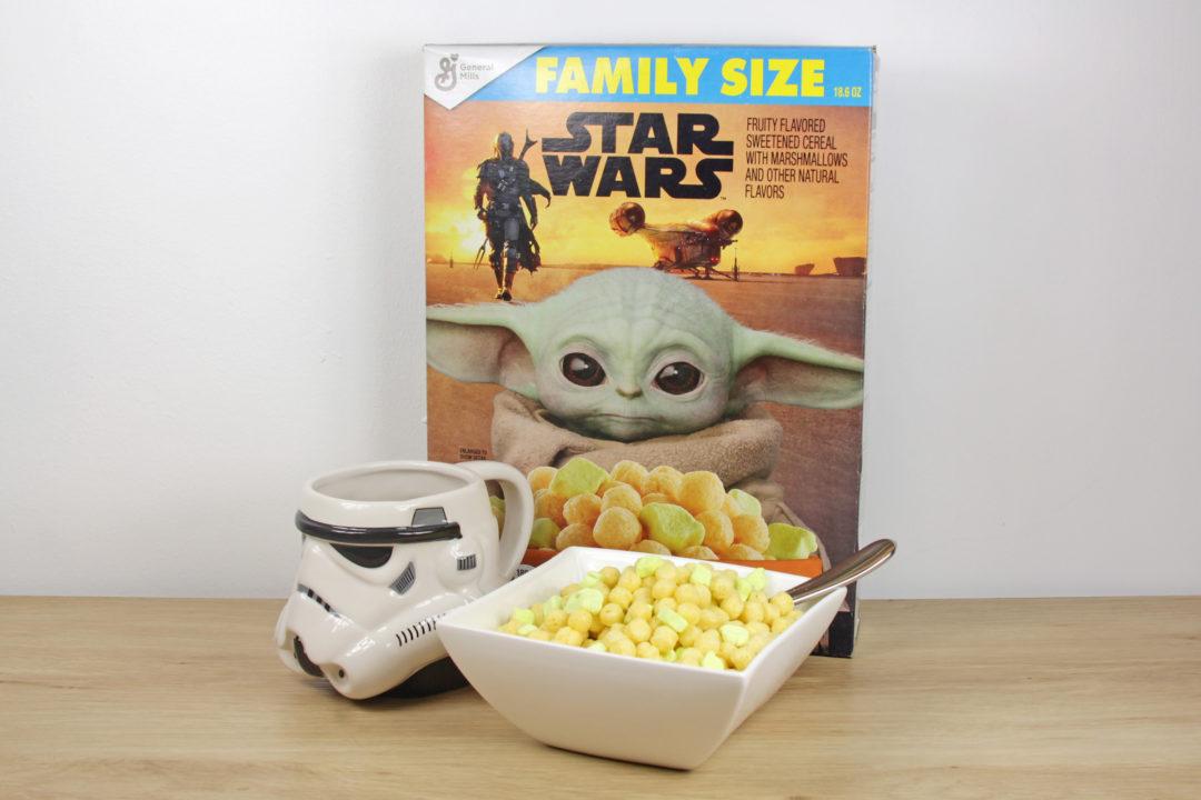 Star Wars Baby Yoda Breakfast Cereal
